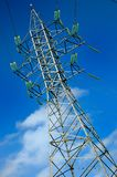 High voltage electric pole Stock Photography