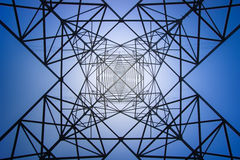 High voltage electric tower. A High voltage electric tower Stock Photography