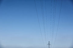 High Voltage Electric Tower. Power concept. High Voltage Electric Tower. The power concept Stock Photography