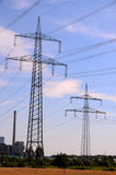 High Voltage Electric Transmission Tower Royalty Free Stock Image