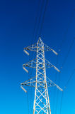 High Voltage Electric Transmission Tower Energy Pylon Royalty Free Stock Photo