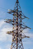High-voltage electrical equipment Stock Photos