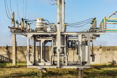 High-voltage electrical equipment Royalty Free Stock Image