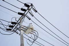 The high voltage electricity Stock Photos