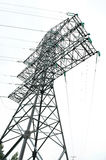 High voltage electrick power tower Royalty Free Stock Photography