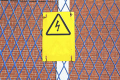 High Voltage Royalty Free Stock Photos