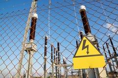 Free High Voltage Hazard Royalty Free Stock Photos - 118938408