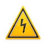 High Voltage Icon Royalty Free Stock Photos