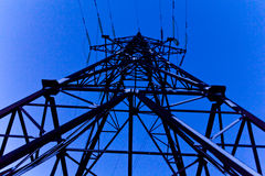 High-voltage Line Royalty Free Stock Image