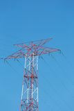 High voltage line Royalty Free Stock Photos