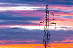 High Voltage Line Royalty Free Stock Image