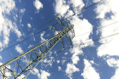 High voltage line Royalty Free Stock Photography