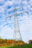 High-voltage line Stock Photography