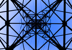 High-voltage Line Support Stock Photography