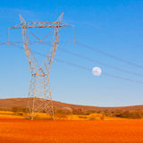 High voltage lines. Stock Photo