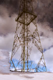 High voltage lines. Royalty Free Stock Photos
