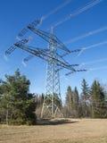 High voltage mast Stock Image