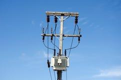 High voltage pole Royalty Free Stock Photos