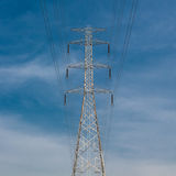 High Voltage Poles Royalty Free Stock Photography
