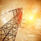 High voltage post Royalty Free Stock Photo