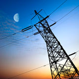 High voltage post Stock Image
