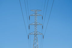 High voltage post Royalty Free Stock Image