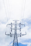 High voltage post Stock Photos