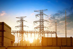 High voltage post Royalty Free Stock Photography
