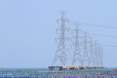 High Voltage Power Royalty Free Stock Photo
