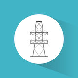 High voltage power electricity symbol Stock Photography