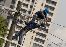 Free High Voltage Power Line Stock Image - 31484351