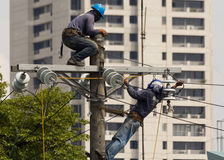Free High Voltage Power Line Stock Photos - 31487373