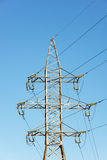 High voltage power line. Stock Images