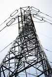 High-voltage power line tower Royalty Free Stock Photography