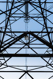 High-voltage power line Royalty Free Stock Photo