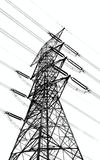 High Voltage Power Mast Royalty Free Stock Image