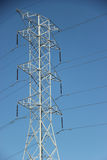 High Voltage Power Pole Stock Images