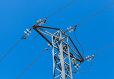 High voltage Power Pylon Royalty Free Stock Photo