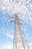 High-voltage power tower Royalty Free Stock Photography