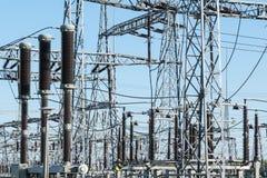 High voltage power transformer Stock Photos