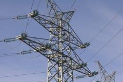 High voltage pylon 1 Stock Images