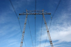High voltage pylon Royalty Free Stock Photos