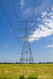 High voltage pylon Royalty Free Stock Photo