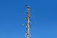 High voltage pylon Stock Image