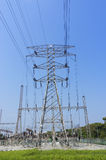High Voltage Pylon Electricity Royalty Free Stock Photos