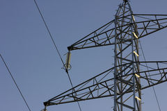 High voltage pylon Royalty Free Stock Image