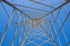 High voltage pylon Stock Images