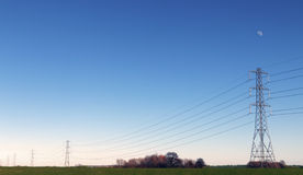 High Voltage Pylons Royalty Free Stock Image