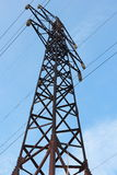 High-voltage reliance. Stock Photo