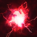 High voltage strike Royalty Free Stock Photo